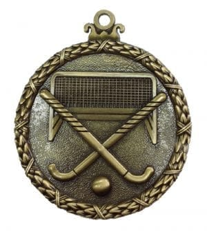 Antique hockey medal